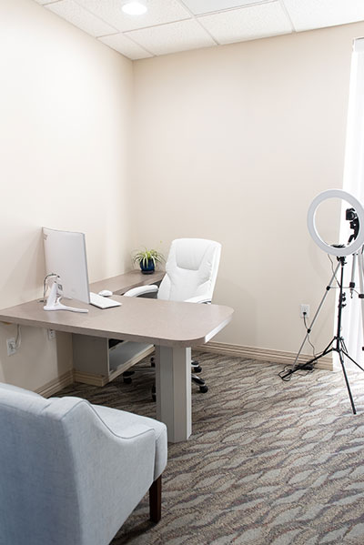 consulting room at Serenity Dental